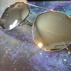 Prada Mirror Frame  Aviator Sunglasses